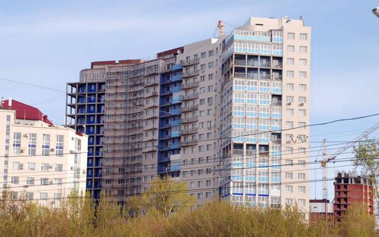 Многоэтажный дом на Красина, 54/1 возводится уже 13 лет. Сданы только два подъезда