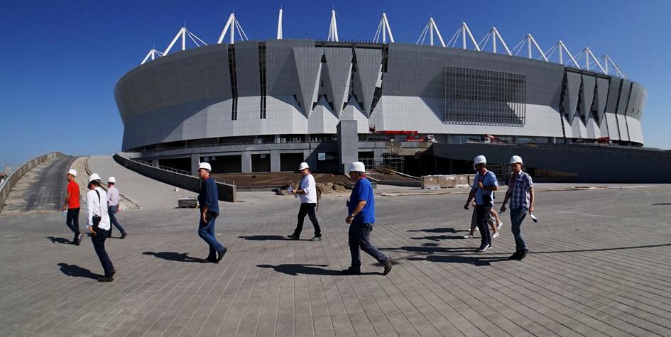В Ростове-на-Дону ввели в эксплуатацию новый стадион перед ЧМ-2018