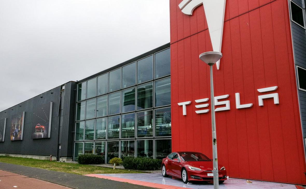 Офис Tesla в Амстердаме,Нидерланды