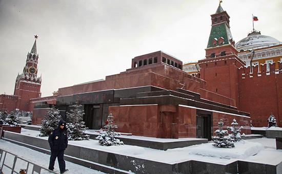 Мавзолей Владимира Ленина на Красной площади