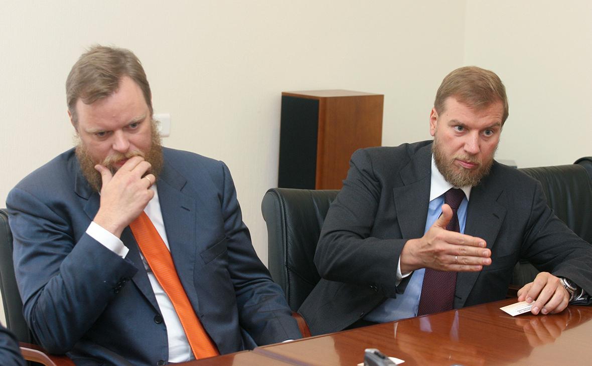 Дмитрий и Алексей Ананьевы (слева направо)