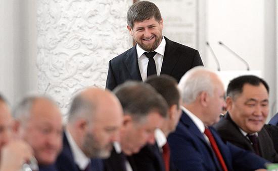Глава Чеченской Республики Рамзан Кадыров назаседании Государственного совета омерах поповышению эффективности бюджетных расходов. Архивное фото