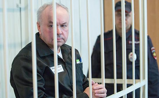 Бывший владелец «Мостовика» Олег Шишов вовремя заседания вКуйбышевском суде. 9 сентября 2016 года