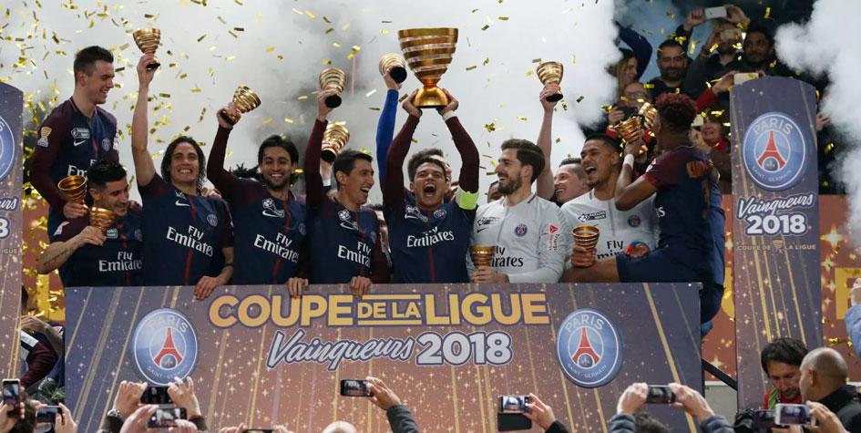 «ПСЖ» разгромил «Монако» в финале Кубка французской лиги