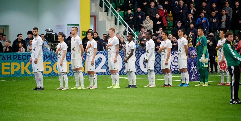 Футболисты чемпиона Казахстана «Астаны»