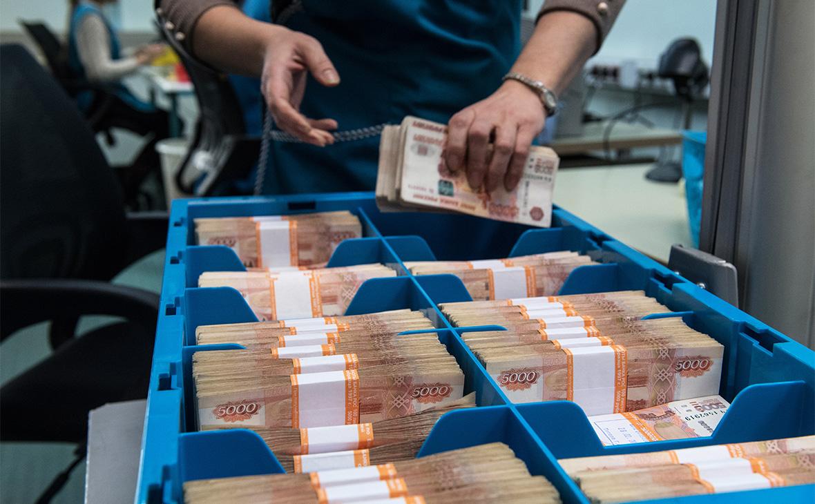 Запасы денег в российском бюджете достигли рекорда