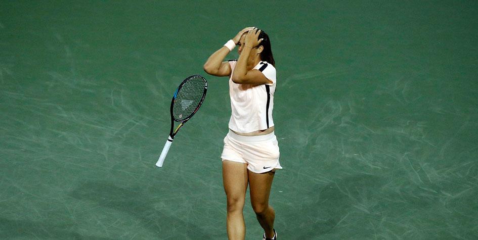 Первая ракетка России проиграла в финале крупного турнира WTA