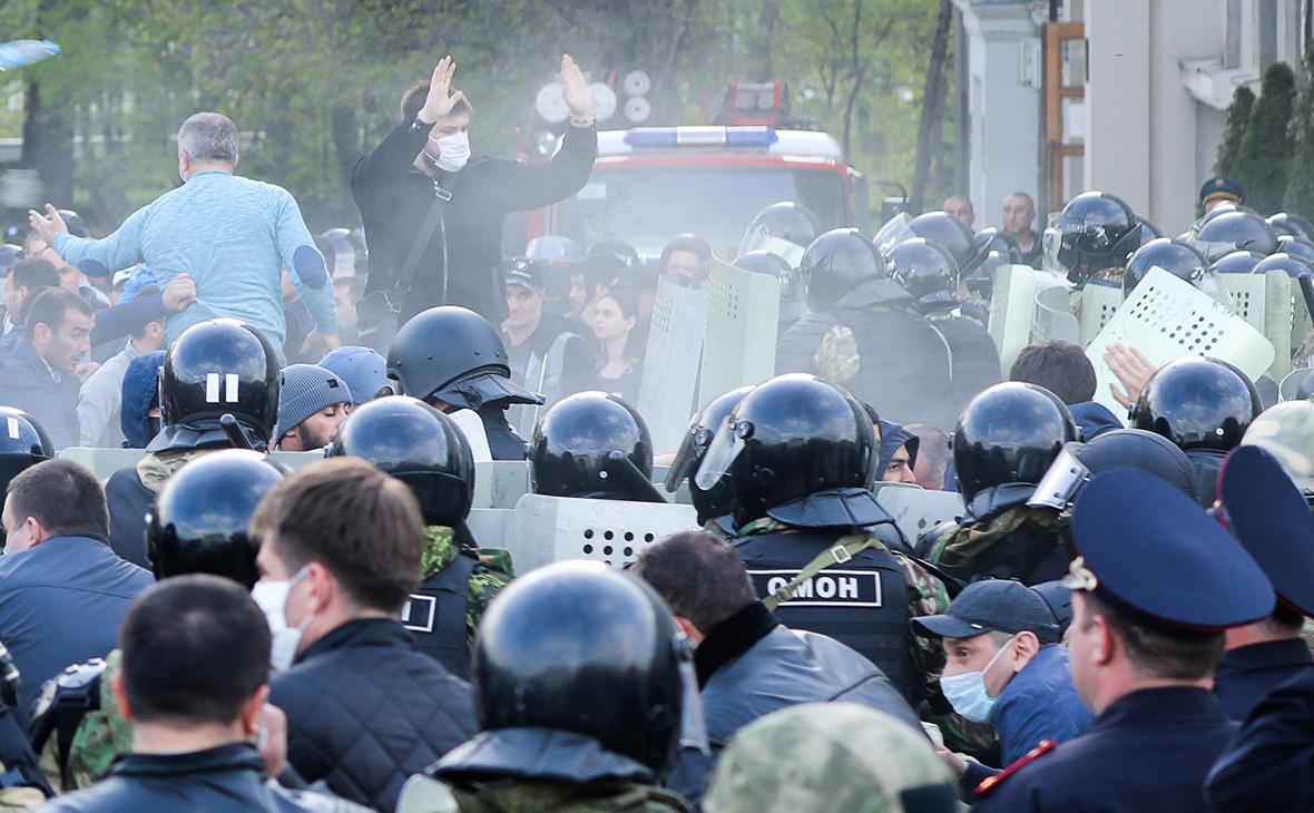 Кремль предупредил о негативных последствиях митинга во Владикавказе