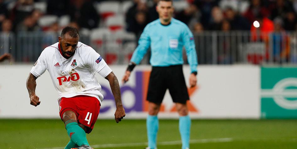Футболиста «Локомотива» признали лучшим игроком недели в Лиге Европы
