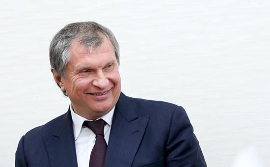 Президент компании «Роснефть» Игорь Сечин