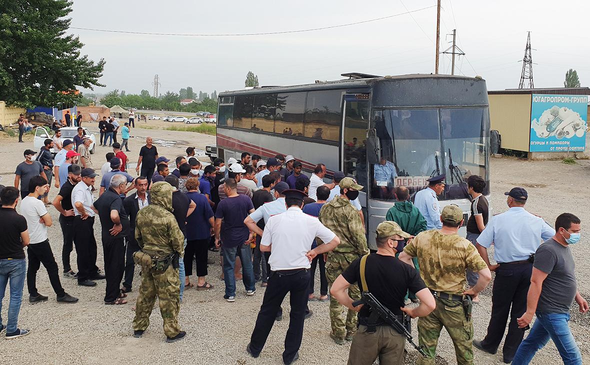 В Дагестане возбудили дело после беспорядков с участием азербайджанцев