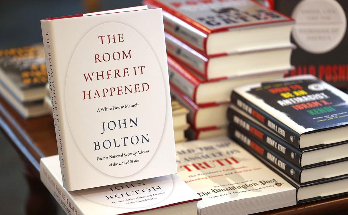 Книга Джона Болтона«Комната, где это произошло: мемуары Белого дома»