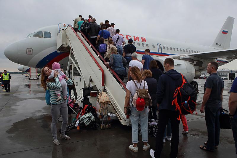 Санкт-Петербург. Аэропорт «Пулково»