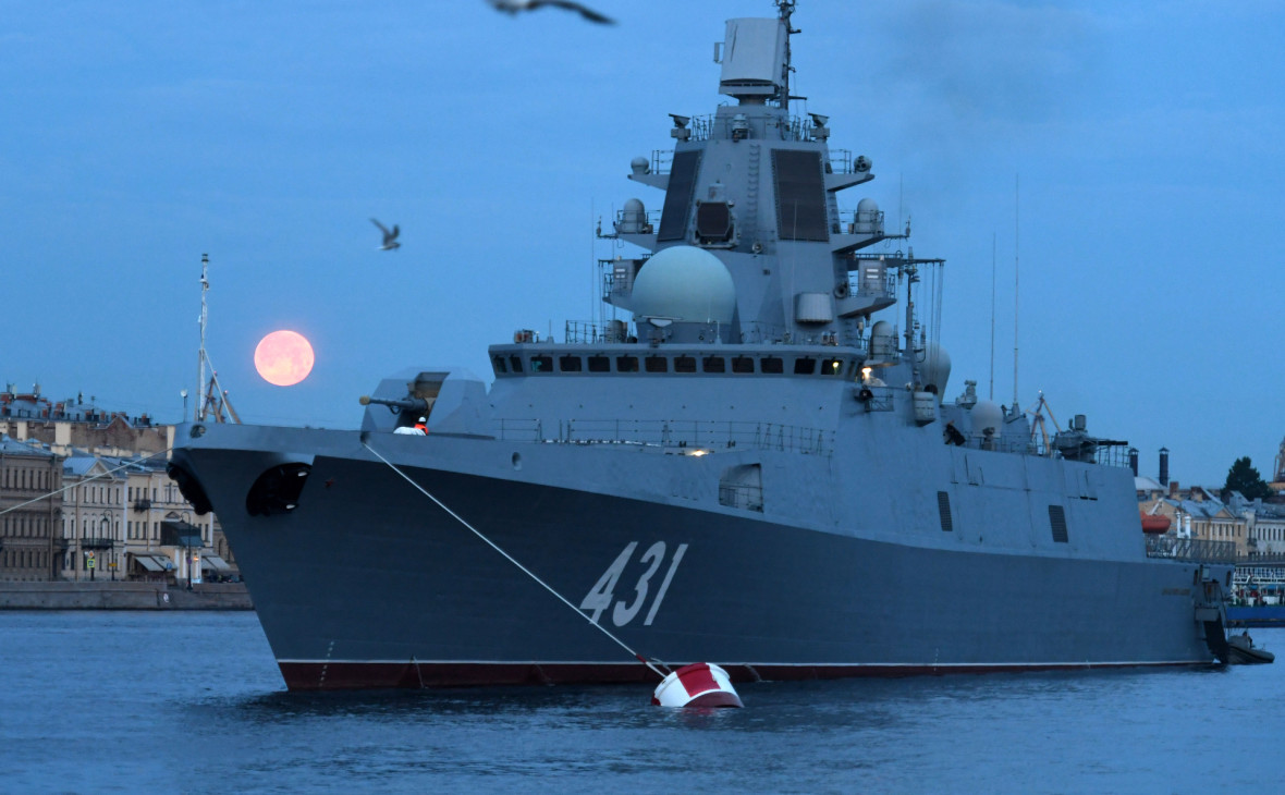 Норвежские военные связали радиопомехи с испытаниями российского фрегата
