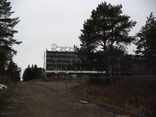 Строительная площадка на территории санатория «Дюны»
