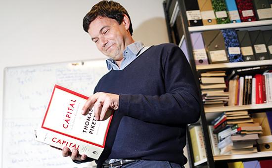 Французский экономист Том Пикетти