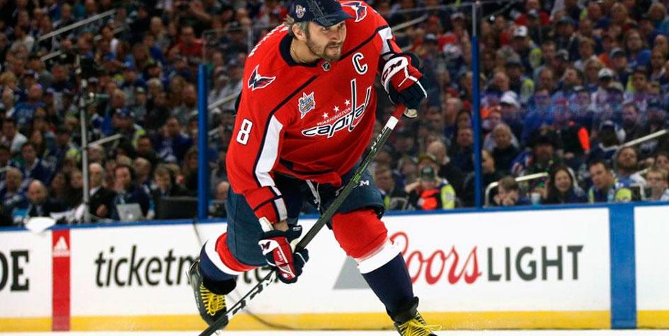 Овечкин выиграл конкурс на самый сильный бросок в НХЛ
