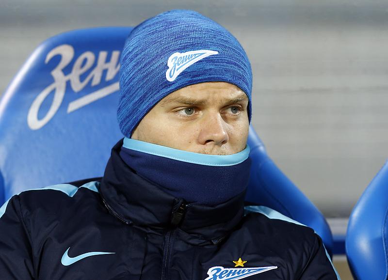 Александр Кокорин, футболист «Зенита»