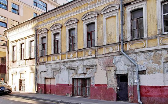 Общежитие в центре Москвы