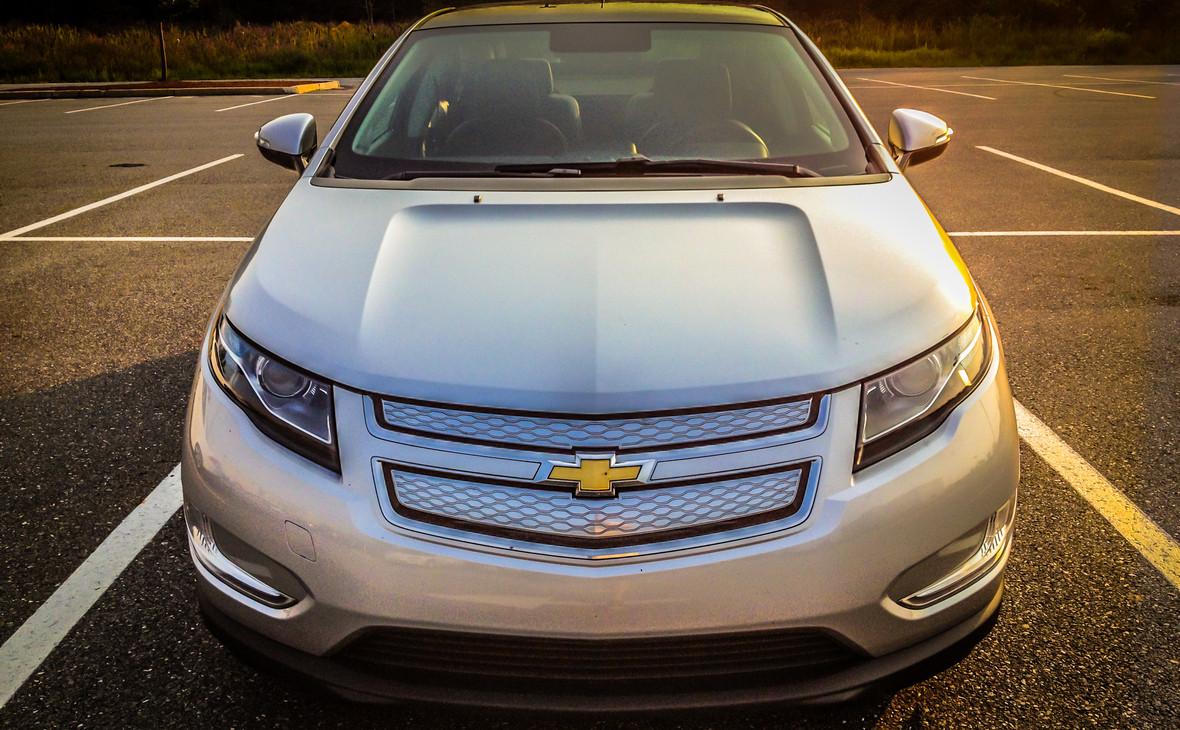 Гибридный автомобиль Chevrolet Volt, произведенный General Motors