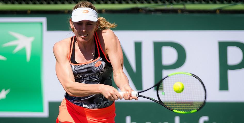 Российская теннисистка упустила победу в полуфинале турнира в Австрии