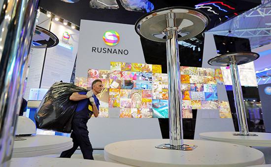 Стенд «Роснано» наПетербургском экономическом форуме. 2014 год