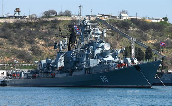 Сторожевой корабль Черноморского флота «Сметливый»