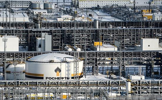 Вид Ванкорского нефтегазового месторождения в Красноярском крае