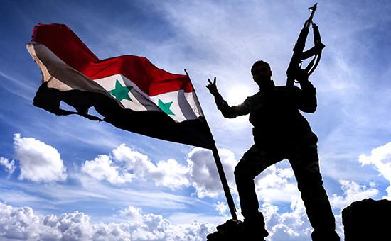Военнослужащий сирийской армии, 2015 год
