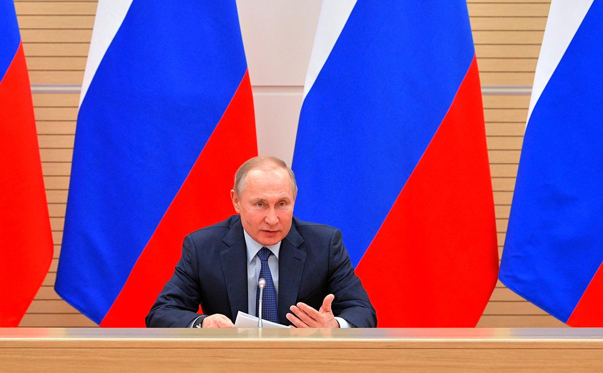 Путин потребовал очистить от криминала стратегические отрасли экономики