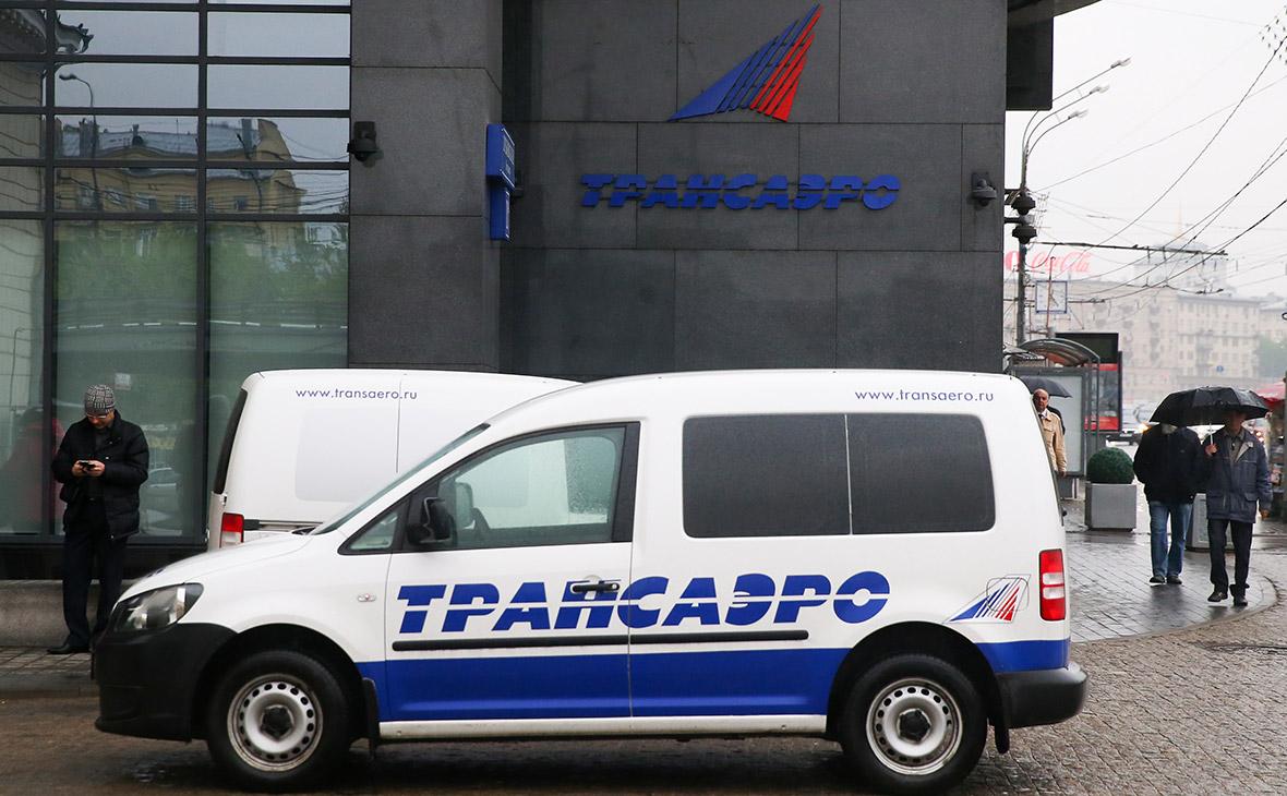 Центральный офис «Трансаэро» в бизнес-центре «Дом Парк культуры». Май 2014 года