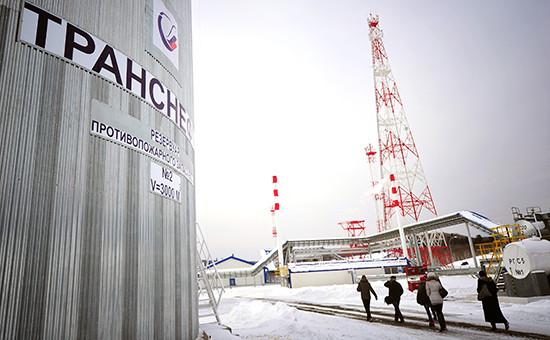 Нефтеперекачивающая станция компании «Транснефть»