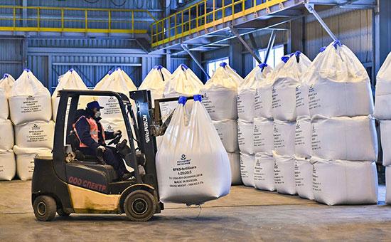Производство минеральных удобрений в Ленинградской области