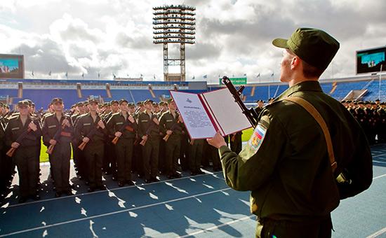 Курсанты Военно-космической академииим.А.Ф. Можайского