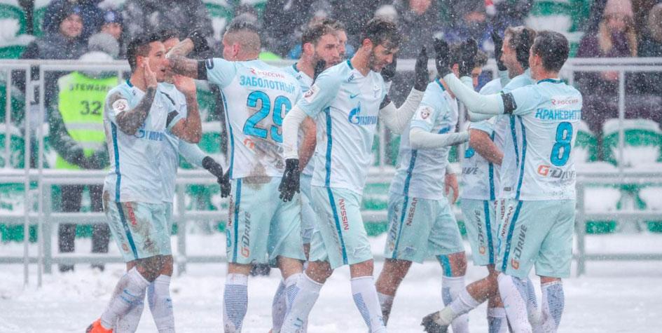 «Зенит» впервые с декабря победил в чемпионате России