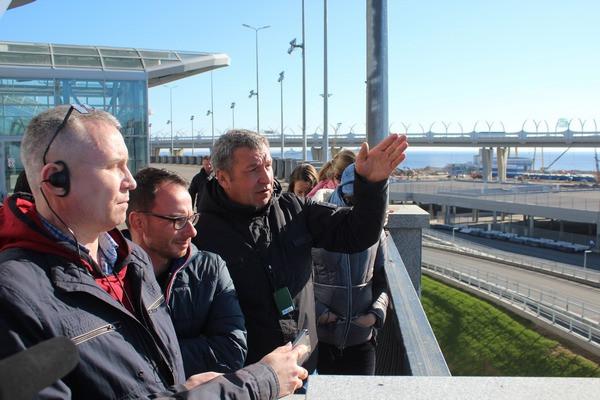 Игорь Албин и журналисты