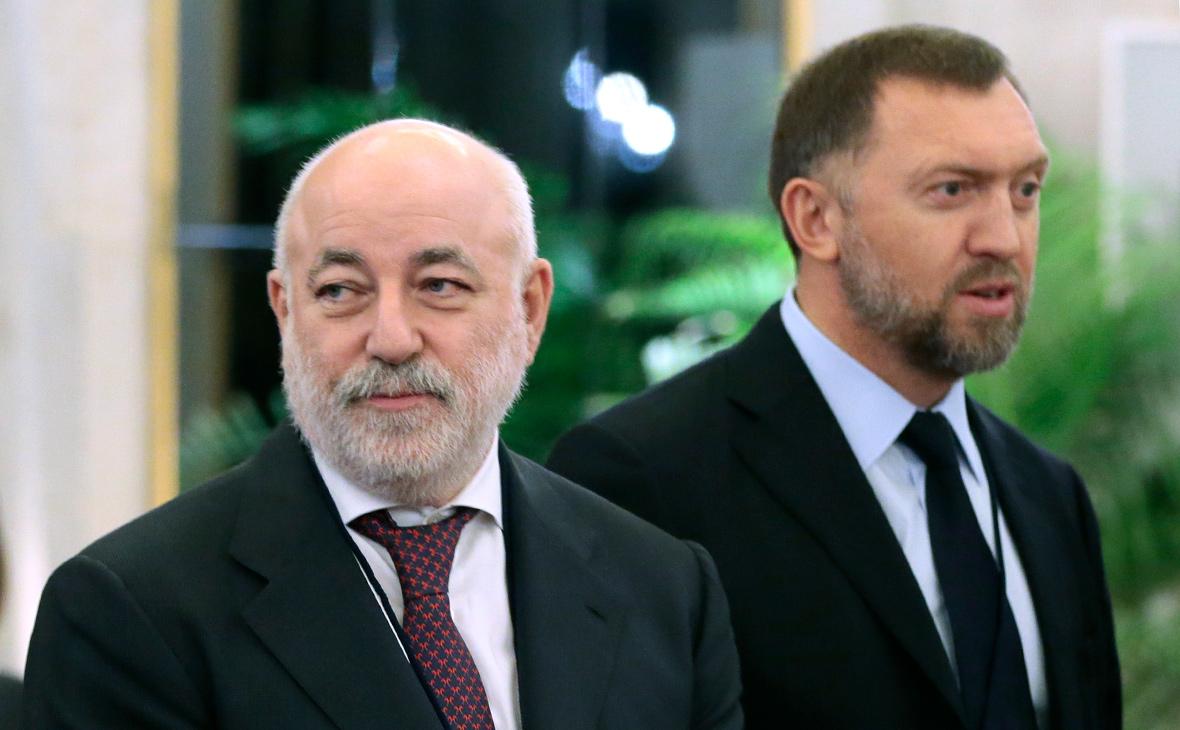 Виктор Вексельберг и Олег Дерипаска