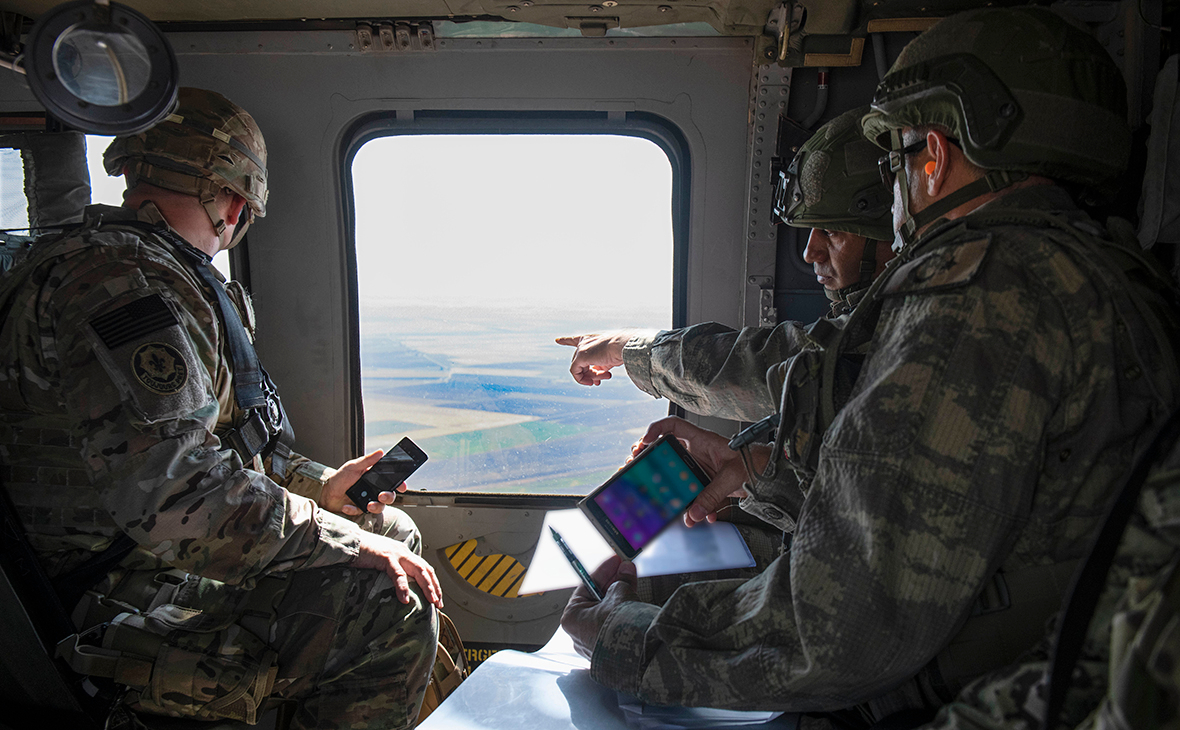Фото:Alec Dionne / U.S. Army / Getty Images