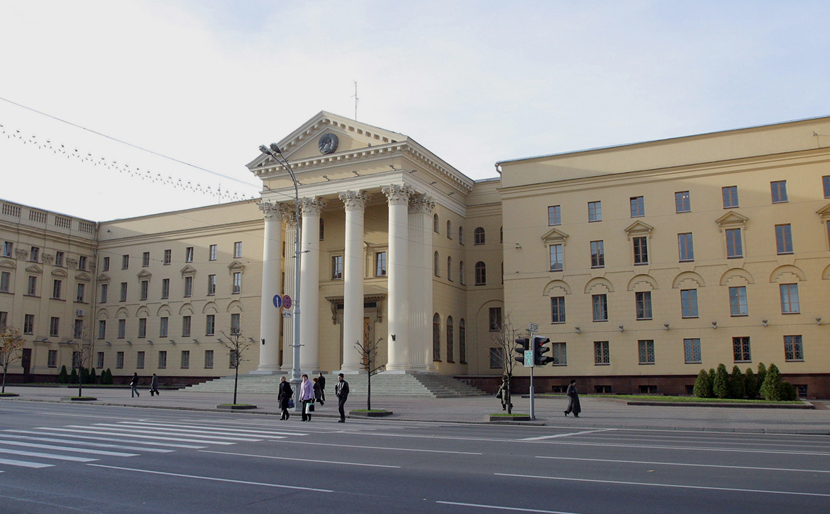 Здание КГБ Белоруссии в Минске
