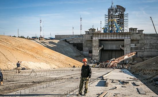 Вид настартовый комплекс космодрома Восточный