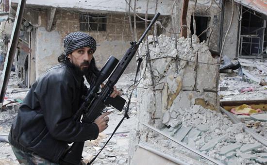 БоецСвободной сирийской армии. Архивное фото