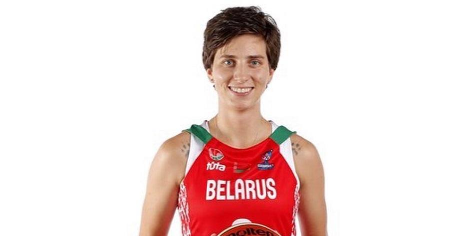 Капитан сборной Белоруссии по баскетболу Екатерина Снытина