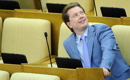 Депутат Думы ВладимирБурматов