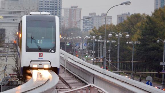 Надземное метро в Подмосковье  Фото:«Известия»