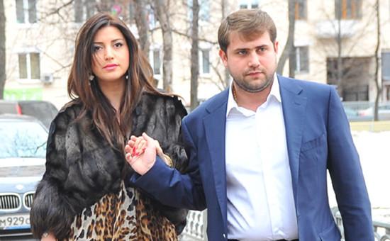 Певица Жасмин и ее супруг, бизнесмен Илан Шор