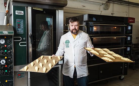 Владелец пекарни«Главхлеб» Роман Буняков