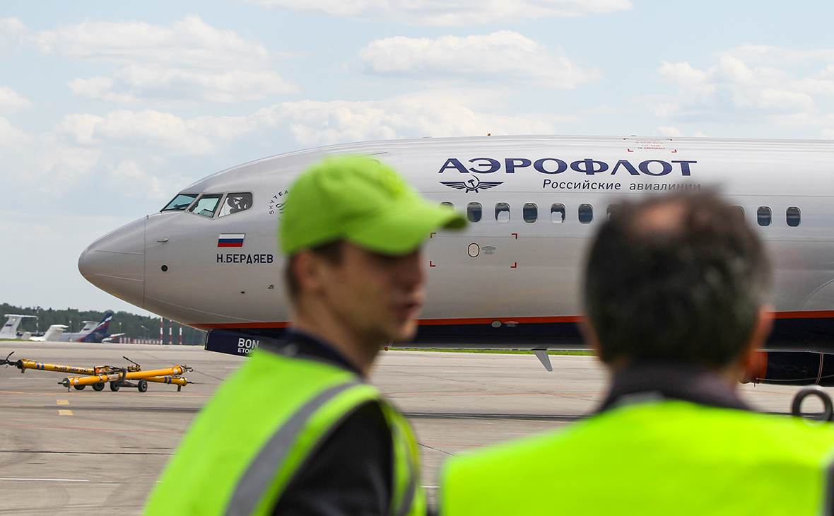 Акции «Аэрофлота» упали более чем на 11% на открытии Мосбиржи