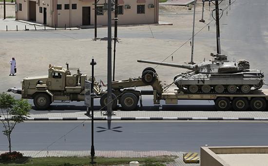Военная техника коалиции, возглавляемой Саудовской Аравией