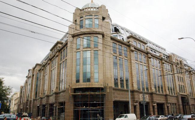 Здание «Военторга» наулице Воздвиженка