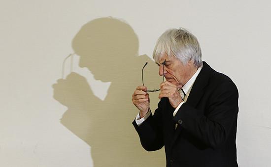 Руководитель Formula 1 Берни Экклстоун